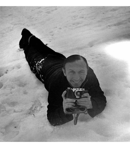 Boris Lipnitzki, French photographer. Kitzbuhel (Austria), january 1936. (Photo by Lipnitzki:Roger Viollet:Getty Images)