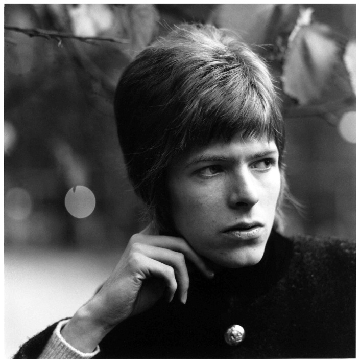 David Bowie by David Wedgbury (David as Twiggy)