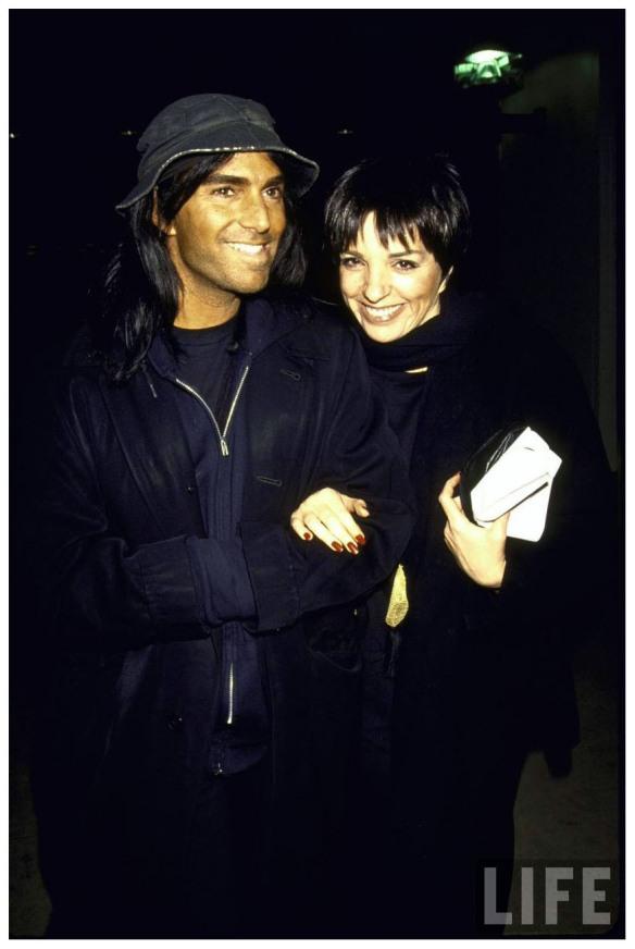 Steven Meisel and Liza Minnelli NYC 1991 | © Pleasurephoto
