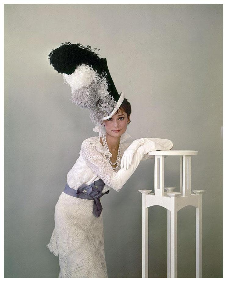 "Audrey Hepburn ""My Fair Lady"" 1963   © Pleasurephoto"