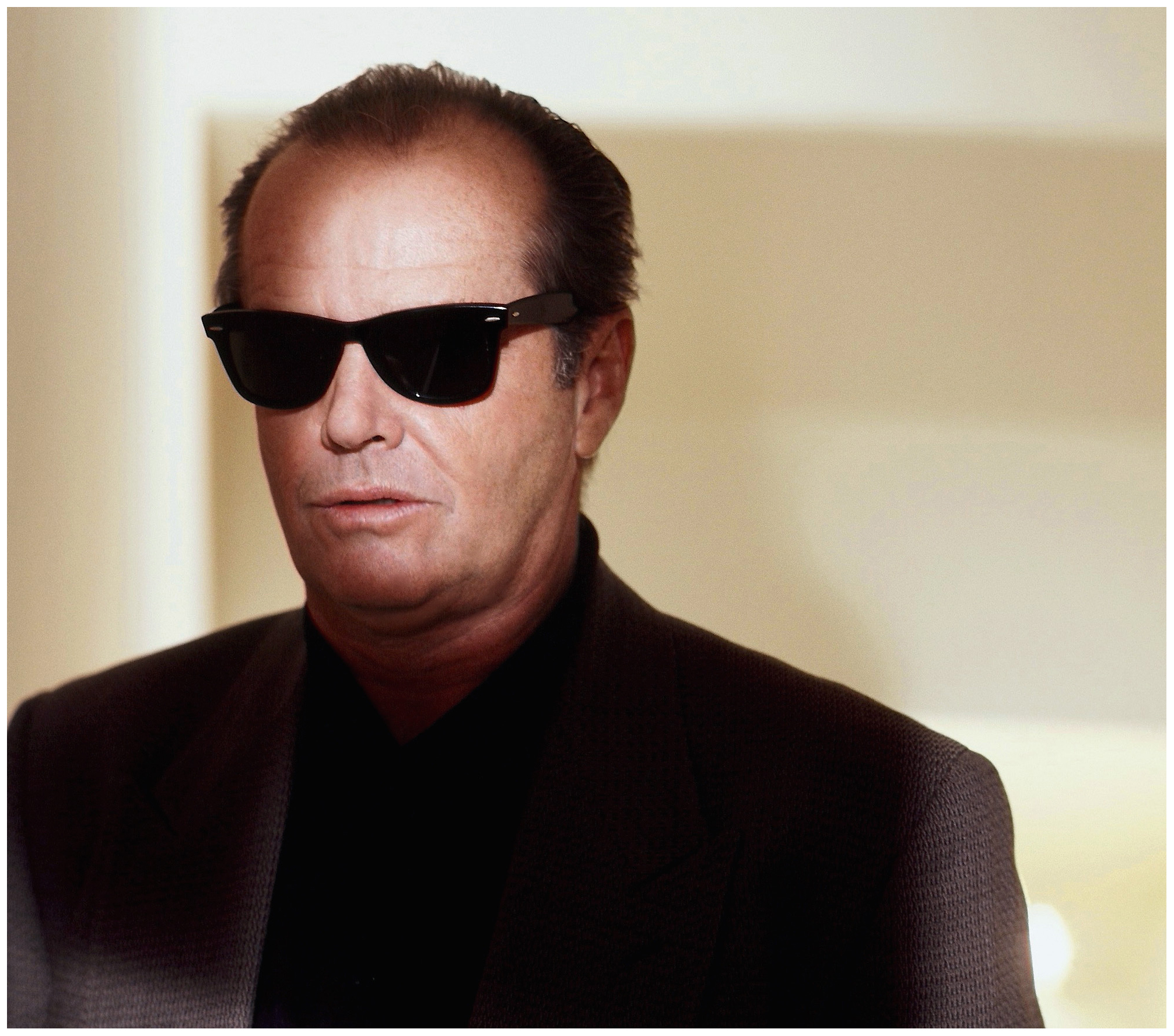 Jack Nicholson Sunglasses Series 1993 by Michael Tighe | © Pleasurephoto