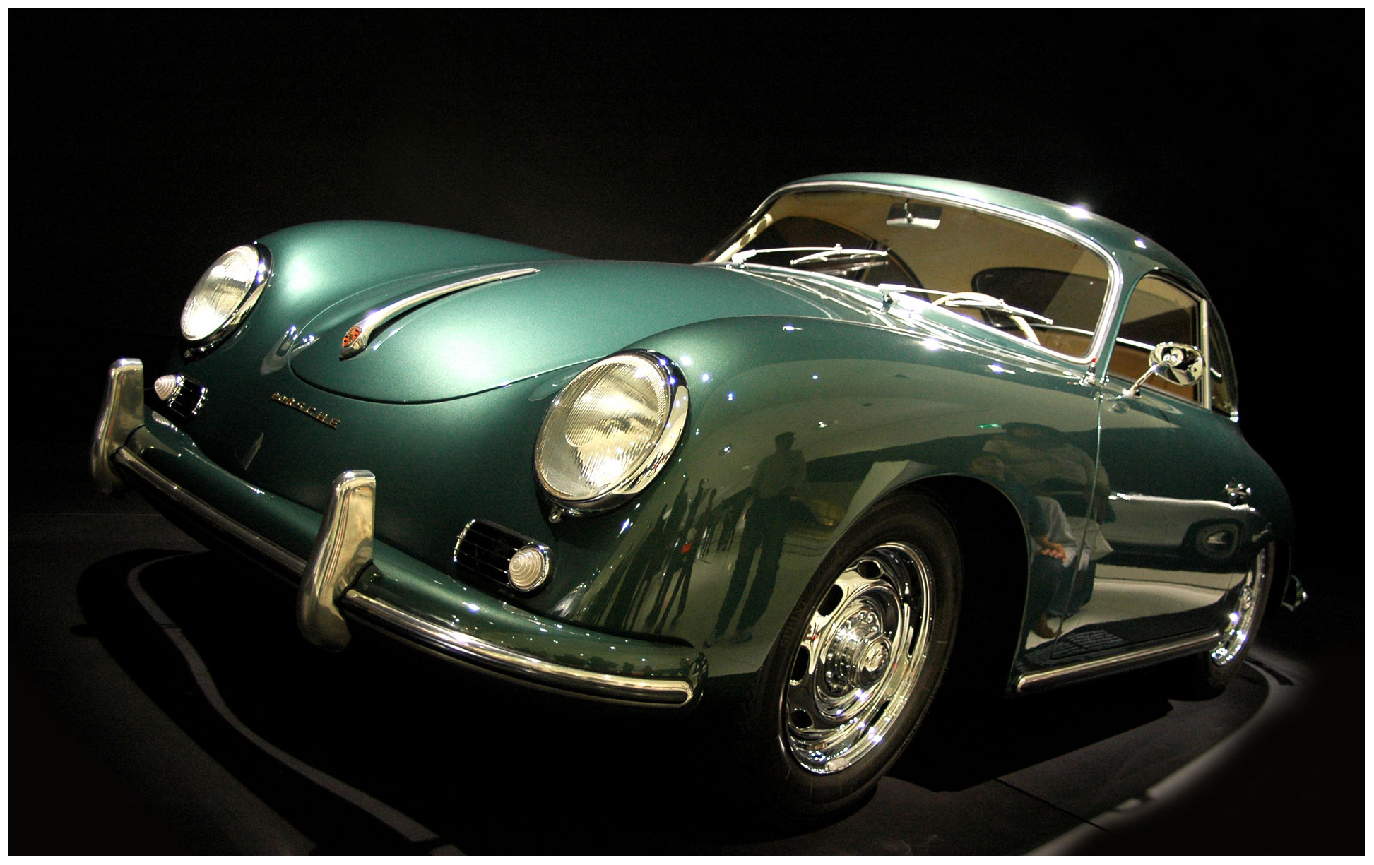 1956 porsche 356 a 1600 super coupe pleasurephoto. Black Bedroom Furniture Sets. Home Design Ideas