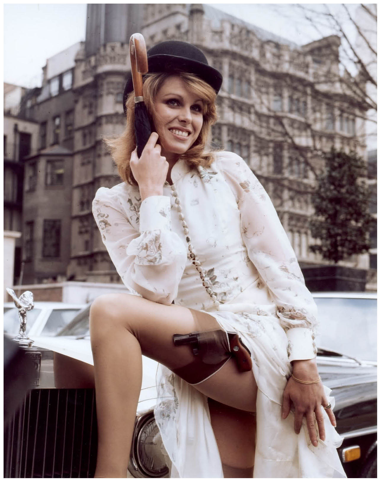 Joanna Lumley as Purdey (The Avengers) 1972 Photo Brian ...