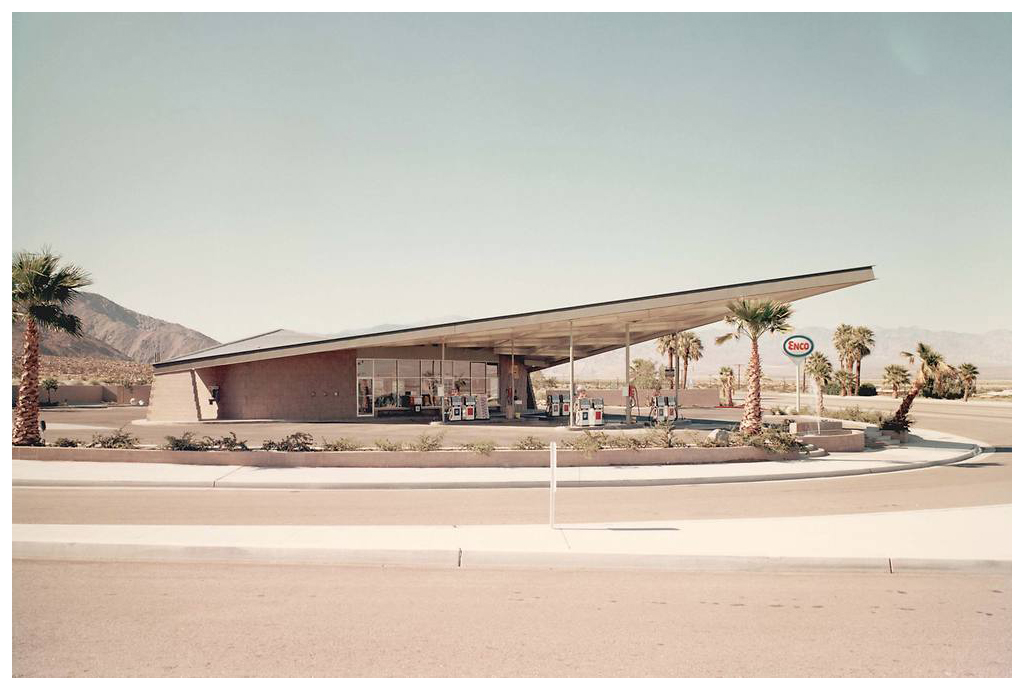 California gas stations for Architecture 60s