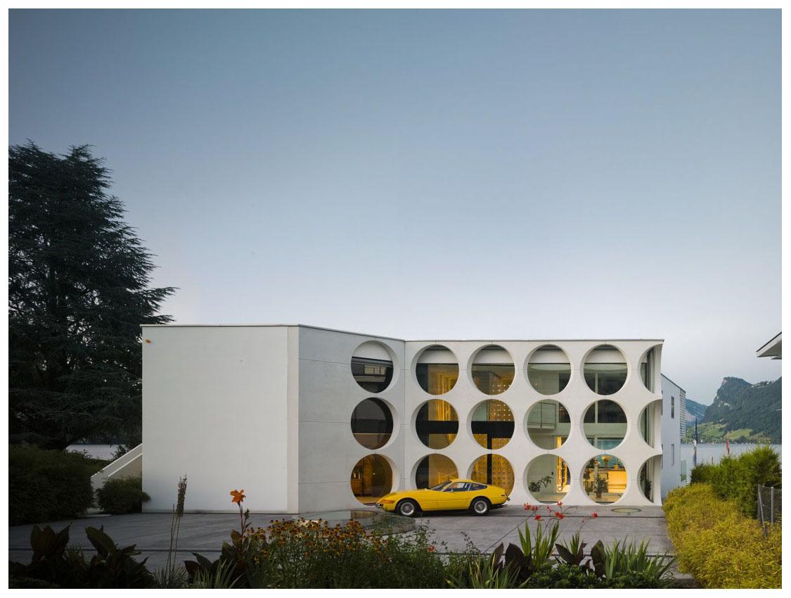 Modern architecture suisse ferrari space age 60 s for K architecture geneve