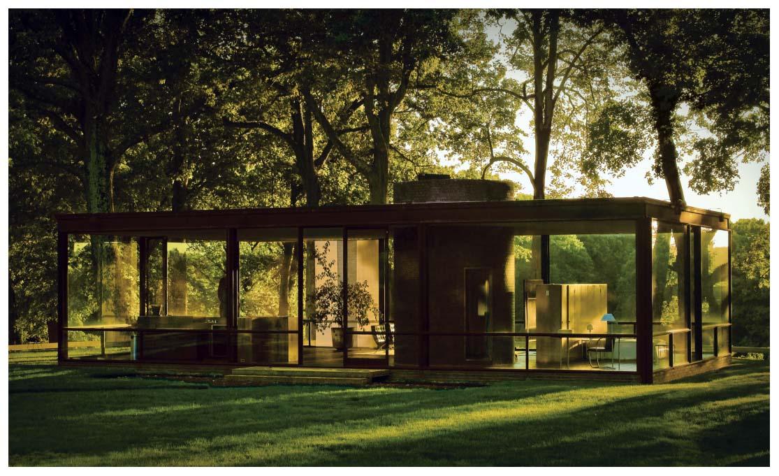 Philip johnson s famed glass house pleasurephoto - Philip johnson glass house ...