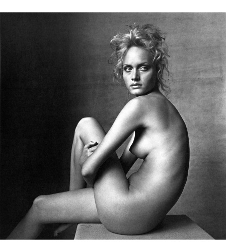 Amber Valletta, 1996 © Irving Penn copia