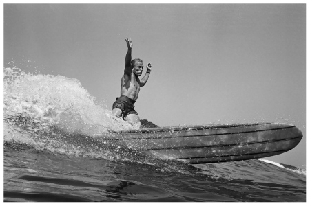 Dewey Weber, 22nd Street, Hermosa Beach, 1966 by LeRoy Grannis