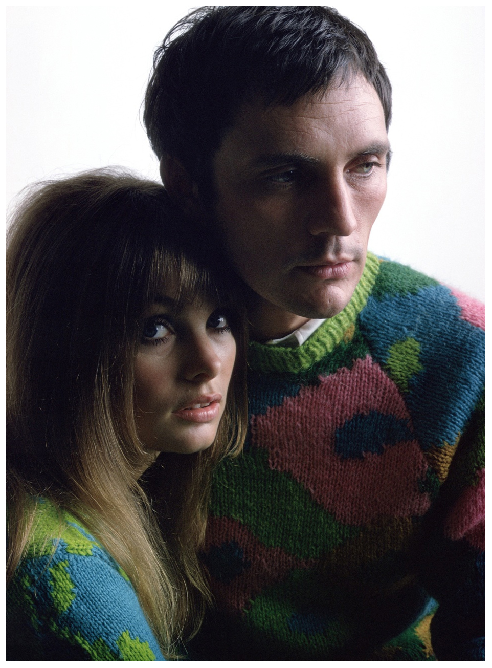 Jean Shrimpton And Terence Stamp 1967
