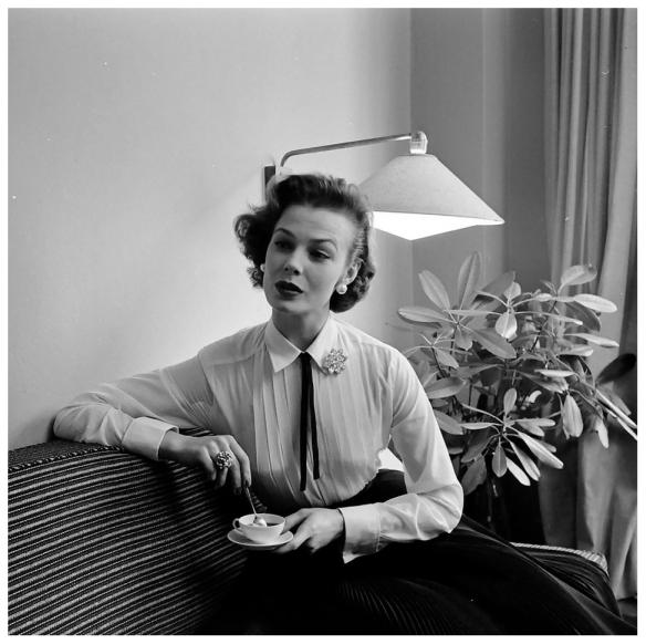 Top Model Lillian Marcuson ,1954 | © Pleasurephoto