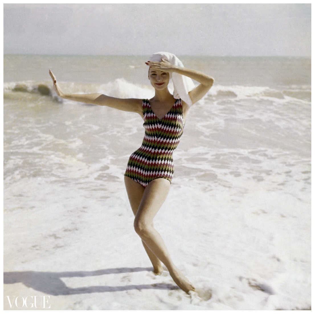 1950 Women's Bathing Suits Models