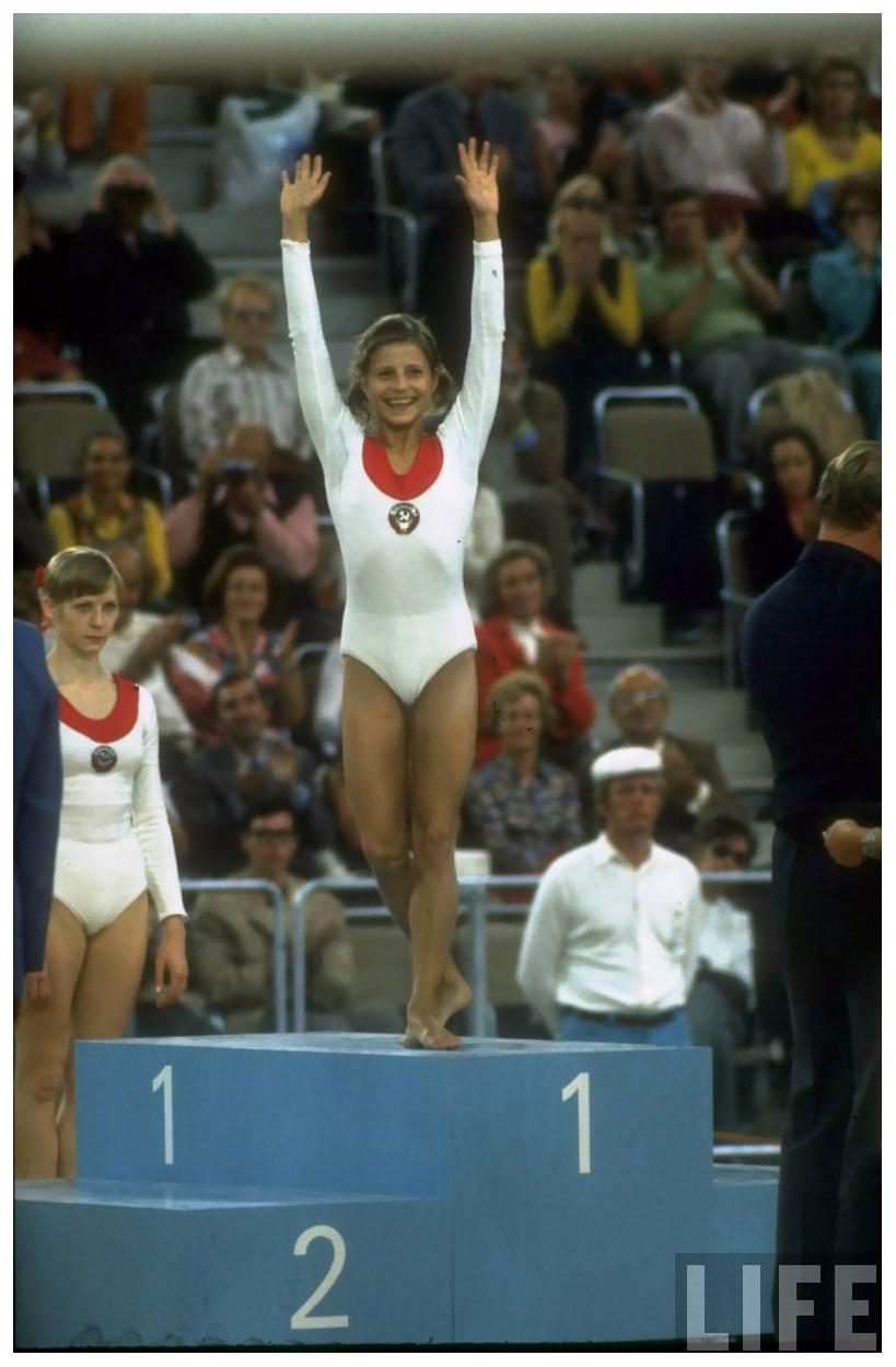 soviet gymnast olga korbut 1972