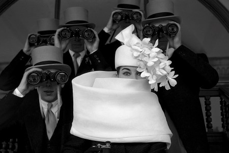 Frank Horvat, Givenchy Hat, Paris, 1958