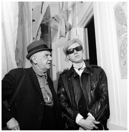 Weegee and andy warhol nyc 1967 pleasurephoto for Ricerca su andy warhol