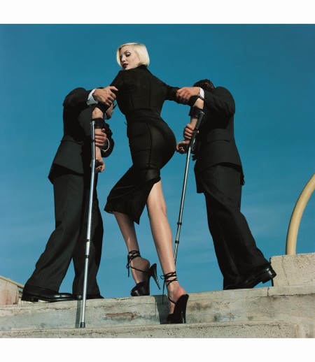 %22High & Mighty%22, Vogue US February 1995. © Helmut Newton copia