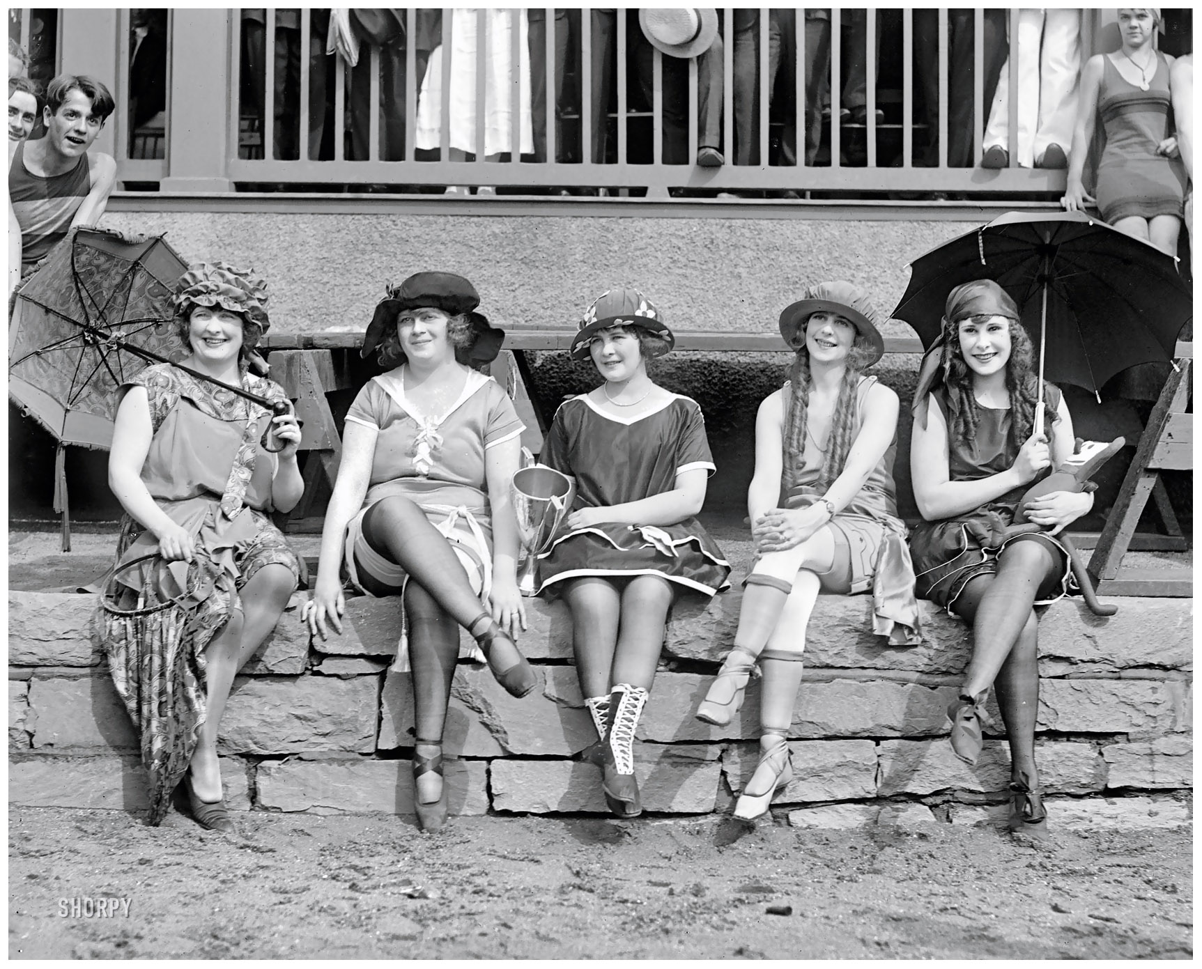 """Bathing Costume Contest."" 1921"