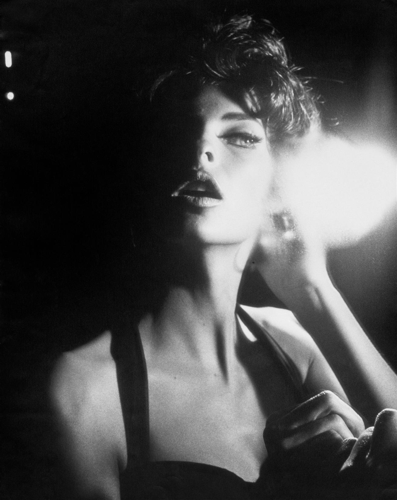 Linda Evangelista Vogue Italia Jun. 1990