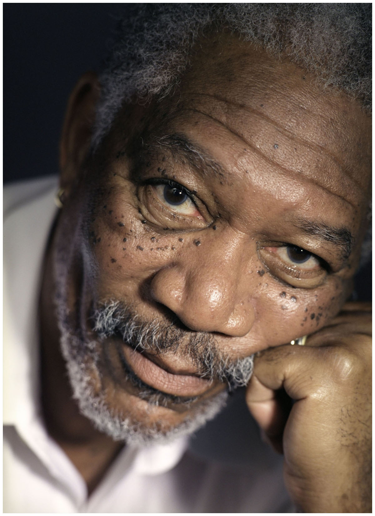 Morgan Freeman Photo Michael Grecco 2004 169 Pleasurephoto