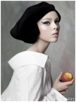 Coco Rocha Vogue US (Sep. 2007) - Pat, Inc. by Steven Meisel