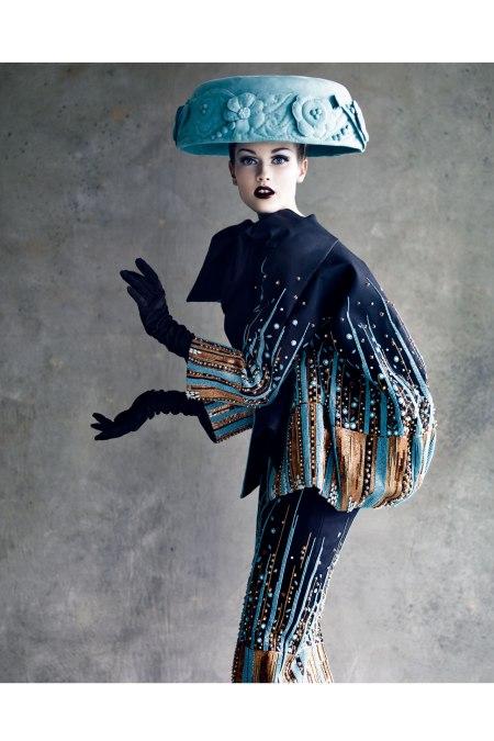 Photo Patrick Demarchelier Dior-Haute Couture 2011 c