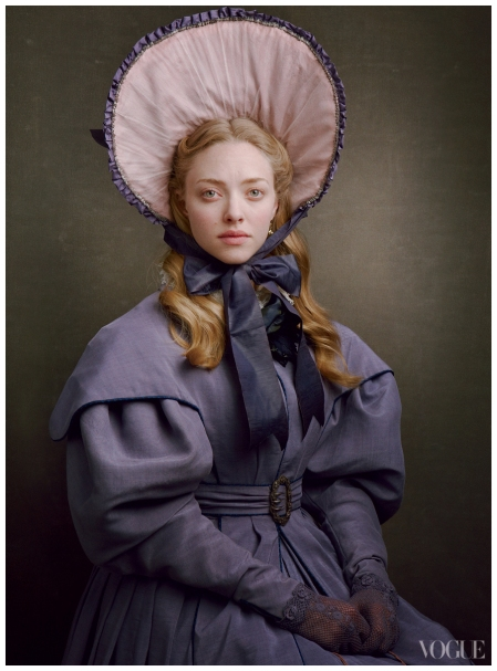 Amanda Seyfried - Les Miserables Promo Pic Annie Leibovitz for Vogue