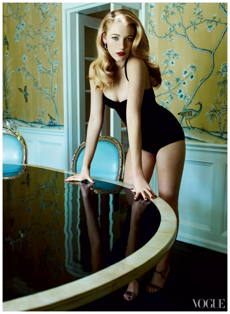 Blake Lively photographed by Mario Testino for Vogue, February 2009