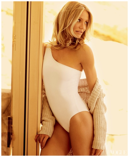 Cameron Diaz Photographed by Mario Testino 2009