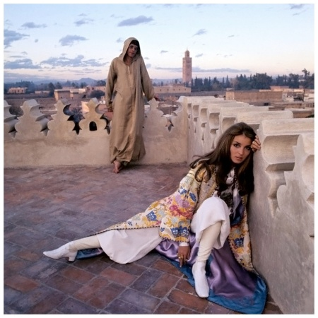 Talitha and Paul Getty, Jr. in Morocco
