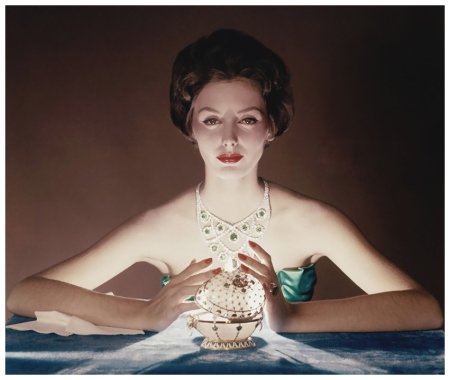 Photograph by John Rawlings Faberge Egg, Vogue, 1958