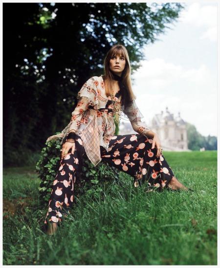 Photo Patrick Lichfield - Jane Birkin 1969