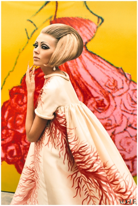 Valentino dress from S/S 1969,Photo Ruven Affanador