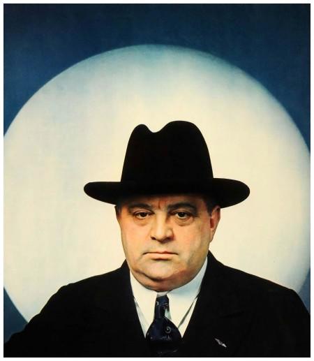 1939 Print Mayor New York Fiorello Henry La Guardia Anton Bruehl