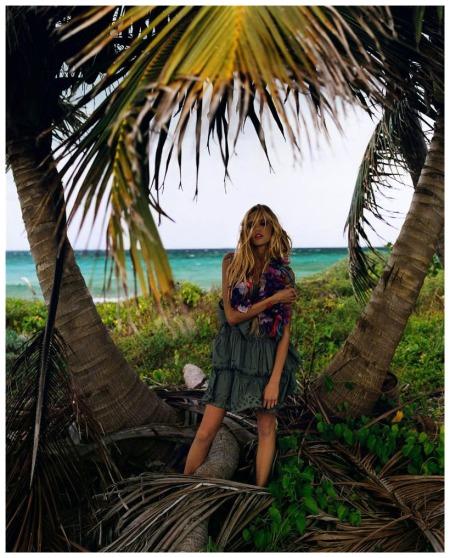 Anja Rubik Photo Carter Smith Vogue 2005 a