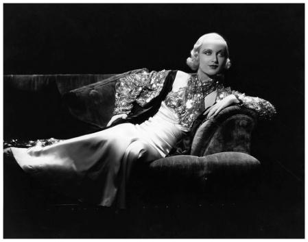 Carole Lombard Photo by Otto Dyar