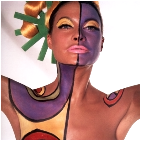Editha Dussler, PHOTO by Horst P.Horst, Vogue, 1967