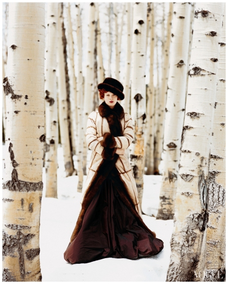 Photo Arthur Elgort, Vogue, November 1999 Cowgirl Hall of Fame