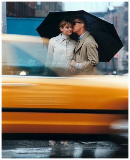 "Photo by Carter Smith Angela Lindvall ""Blame It on the Rain"" Vogue US February 2000"