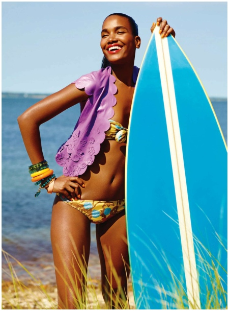 Photo Carter Smith Arlenis Sosa - Synchronized Swim - Elle US November 2010 (5)