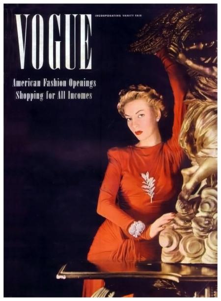 Photo Horst P. Horst - Vogue sept 1940