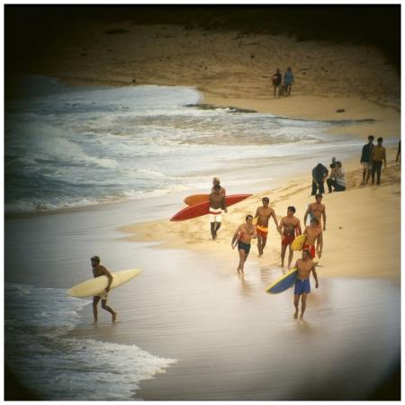 Photo LeRoy Grannis Duke Contest Finalists, Sunset Beach, 1968