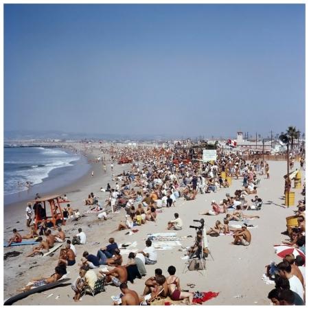 Photo LeRoy Grannis The World Surfing Contest, Ocean Beach, San Diego, 1966