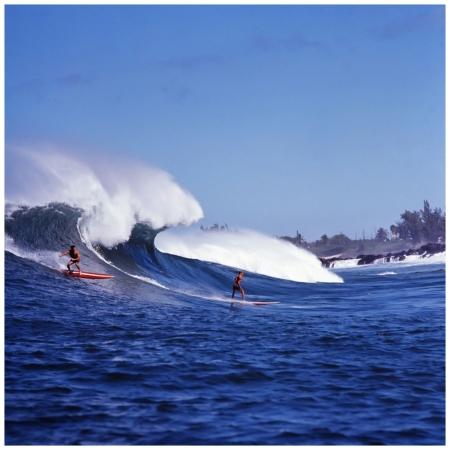 Photo LeRoy Grannis Waimea Bay, 1966