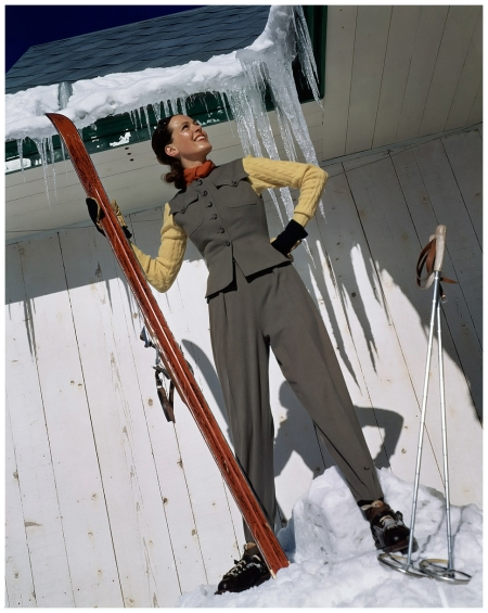 Photo Toni Frissell, Vogue, December 1940