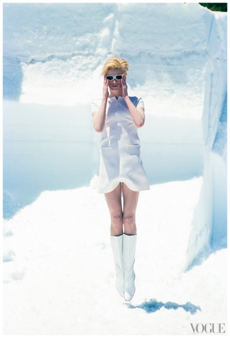 Photo Arthur Elgort, Vogue November 1995 VOGUE