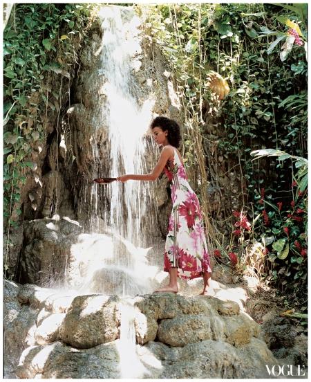 Photographed by Arthur Elgort, Vogue, Sept 2003