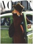 Vogue Cover - September 1945 Photo Constantin Joffé