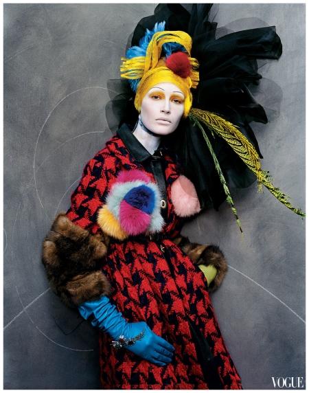 Vogue, October 2003 Photographed by Steven Meisel copy