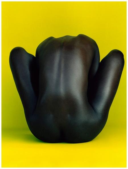 Arjowiggins skin paper Photo Koto Bolofo c Sculpture vivante
