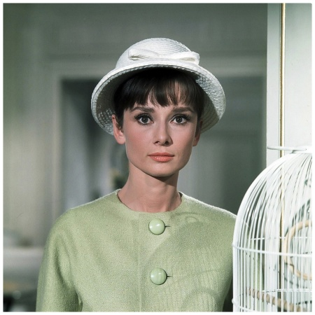 "Audrey Hepburn photographed by Pierluigi Praturlon during the filming of ""Paris When It Sizzles"" Paris June 1962"