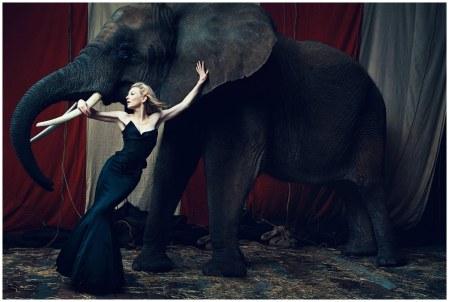 Cate Blanchett, Harper's Bazaar UK, March 2006